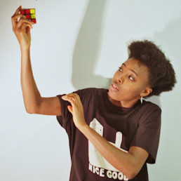 LGM Records Amaroun Rubix cube photo