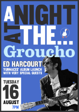 LGM Live Groucho Club Soho Ed Harcourt