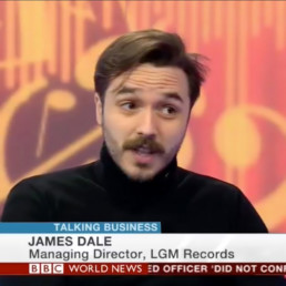 James Dale LGM Records BBC World News