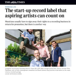 LGM Records The Times Feature Newspaper